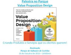 Palestra no Parque - Value Proposition Design